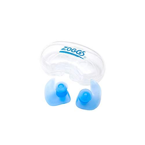 Zoggs Erwachsene Ohrenstöpsel Aqua Plugz Ohrstöpsel Blue, One size