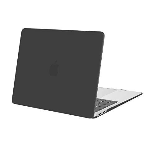 MOSISO Hülle Kompatibel mit MacBook Air 13 2020 2019 2018 A2337 M1 A2179 A1932 Retina Bildschirm, Plastik Hartschale Hülle Cover Nur Kompatibel mit MacBook Air 13 Zoll mit Touch ID, Space Grau