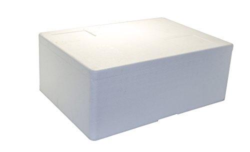 Tropic-Shop Styroporkisten/Styroporbox/Thermobox 730 x 530x 300mm - 5cm Wandstärke