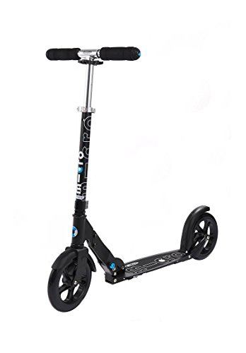 Micro White & Black Kick Scooter for Commuting