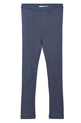 NAME IT Jungen Unterhose lang Leggings Woll Leggings nkmWILL (122/128, Ombre (Blau)