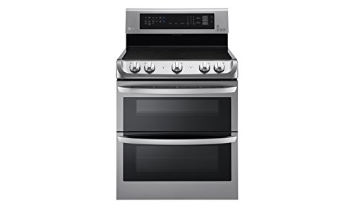 LG LDE4415ST30' Stainless Steel Electric Smoothtop Double Oven Range