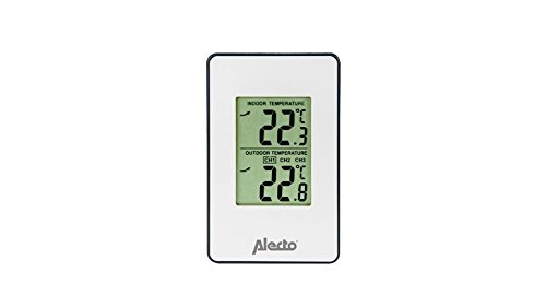 Alecto WS-1050 weerstation, digitaal, wit, 14 x 2 x 12 cm