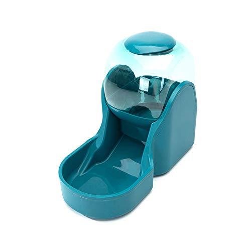 Rayber Comida automática y dispensador de agua para gatos y perros, 3,8 l, comedero automático para gatos y perros, 1 dispensador de agua y 1 comedero automático para mascotas, color verde