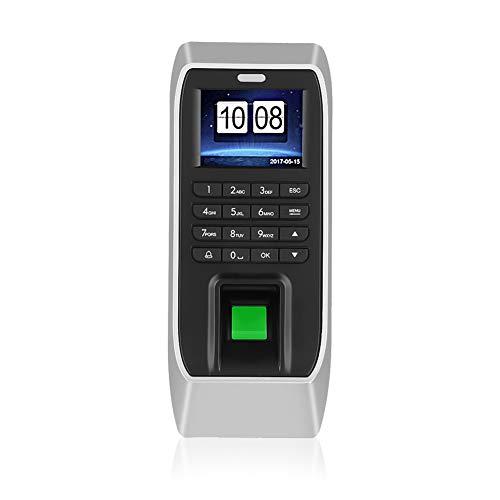 """2.4"""" TFT Sistema de Huella Digital, Máquina de Asistencia de Huellas Dactilares, Capacidad de Huellas Digitales: 3000, Registrador de Tiempo para Empleados Oficina"""