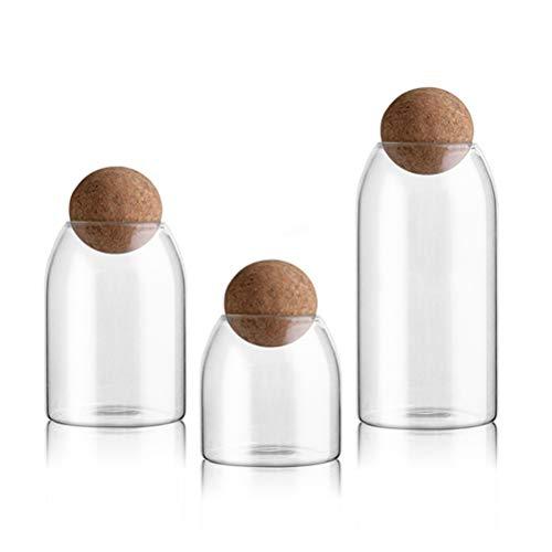 wood and glass jar - 5