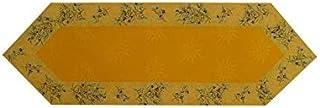Travers de Table LE CLOS DES OLIVIERS Hexagonal 50x160cm Jaune
