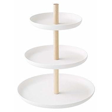 YAMAZAKI home Tosca 3-Tier Cake Stand