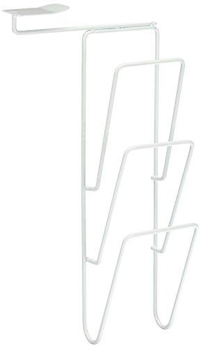 Rayen 6073 Range couvercles, Fer Peint, Blanc, 39 cm