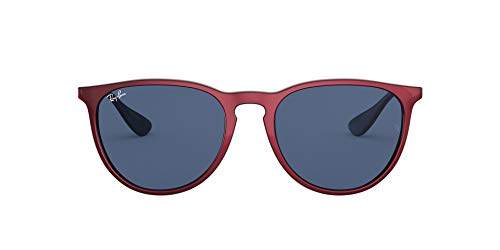 Ray-Ban Erika Color Mix RB4171-647280 Gafas, Red/Metal, 54 Unisex Adulto