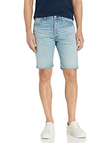 Levi's 501 Hemmed Short Jeans Corti, Tessuto Elasticizzato Halloumi, 58 Uomo
