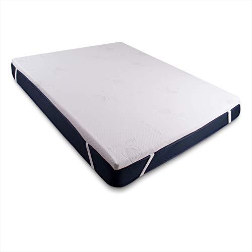 Dreaming Kamahaus Top Topper Viscoelastico | Colchoncillo de Visco | 50 kg/m3 Densidad | Fabricado en España | Grueso 5 cm | Medida 105 x 180 |