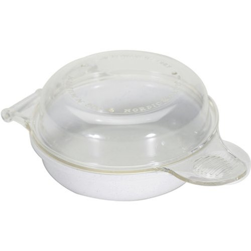 Nordic Ware Mikrowellen-Frühstücksform Eiern Muffin