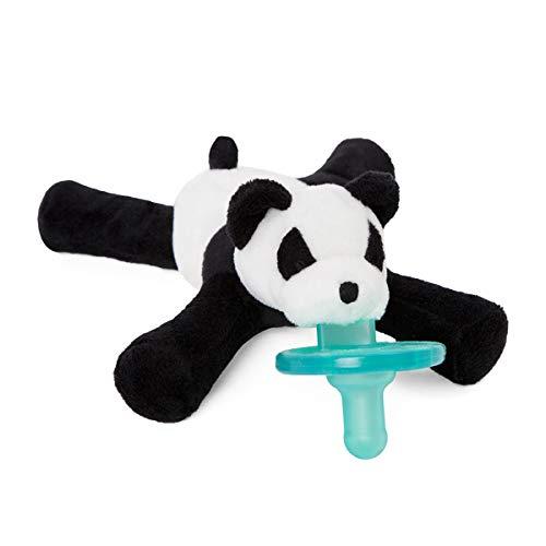WubbaNub Chupete infantil con edredón amigo-panda