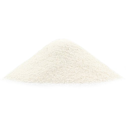 NW Wholesaler - 2 lbs Bright Fine Floral Sand for Vases, Planters and Pots, Terrariums, Aquariums, Fairy Garden, and Arts & Crafts - 13 Colors Available (Sparkling White)