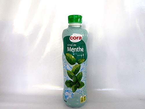 Cora Sirup Pfefferminz Sirop de Menthe 0,75 Liter PET Flasche