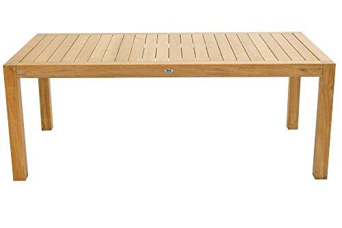 Ploss Loft-Tisch New Haven aus Teakholz, rechteckig in versch. Größen ca. 200 x 100 x 75 cm