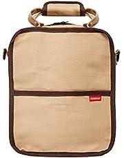 Derwent Carry-All Canvas Bag, 132 Potlood Plus Accessoire en Sketchbook Opslagcapaciteit, Draaggrepen en Afneembare Schouderriem