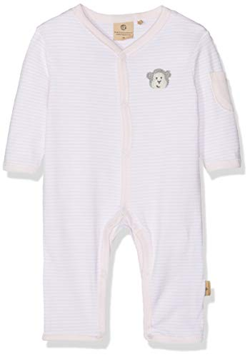 Bellybutton mother nature & me Unisex Baby Schlafanzug 1tlg. 1/1 Arm Schlafstrampler, Rosa (Bb Rose|Rose 2251), 86