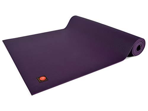 Chin Mudra Tapis de Yoga Excellence Mat - 185cm x 60cm x 4.5mm 100% Latex - Prune