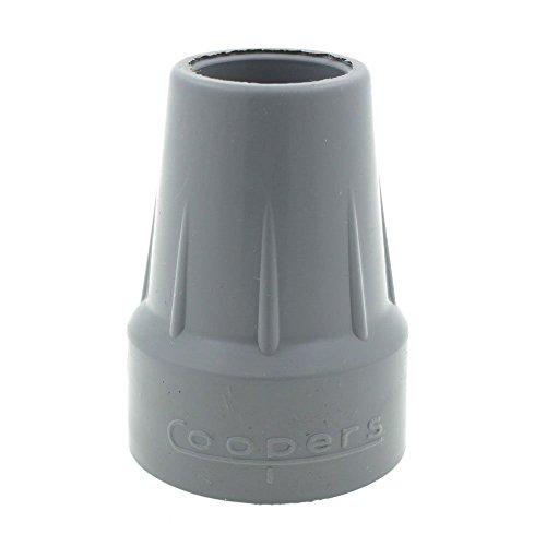 """Coopers - Gummi-Schutzkappen für Gehstöcke etc. - erhöhte ringförmige Basis (Typ Z) - 18/19 mm (3/4"""") Durchmesser - 2 Stück"""