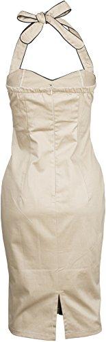 Küstenluder 50s HESTER Pin Up Neckholder Pencil Dress KLEID Rockabilly - 4