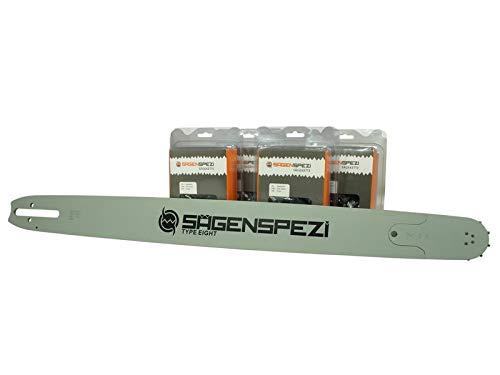 75cm Sägenspezi Schwert-Set Solid Drive mit 4 Vollmeißelketten .404