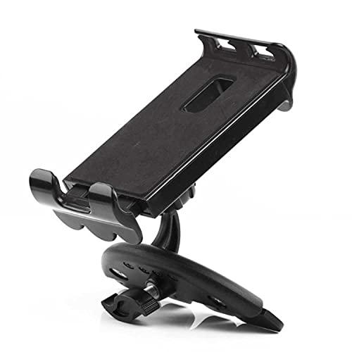 NUIOsdz Universal Car CD Slot Soporte para tableta para teléfono móvil Soporte para soporte de montaje, para iPad de 3,5-11 pulgadas, iPhone, tableta, teléfono móvil