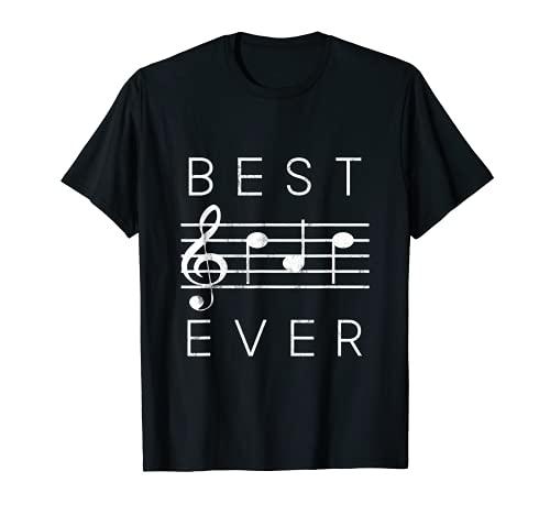 BEST Dad Ever, Musik-Noten, lustig, Geschenk zum Vatertag