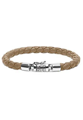 Boeddha to Boeddha damesarmband 925 zilver 21 beige 32005818