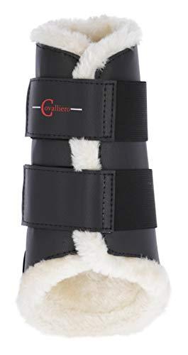 Kerbl 3210550 Dressurgamaschen Fleece hinten schwarz, L