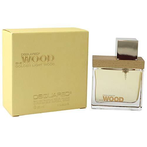 Dsquared2 She Wood Golden Light Wood Eau De Parfum Spray 30ml/1oz - Damen Parfum