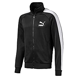 cheap PUMA Iconic T7 Men's Track Jacket, Black, M.