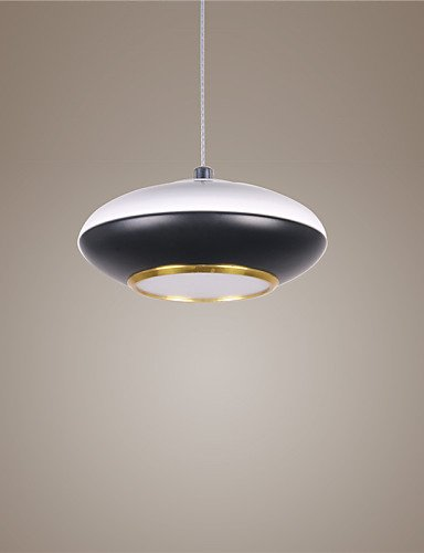 SUHANG Max Lampe de plafond en métal avec éclairage LED 5 W, Warm White-110-120v, E27 5.0W