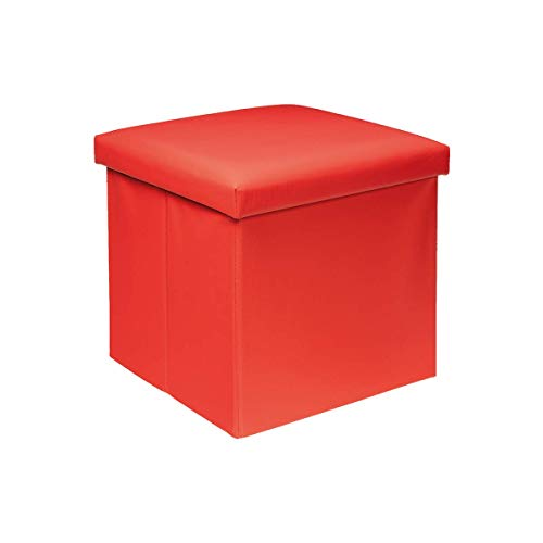 LEMON TREE SL Puff baúl de almacenaje Cuadrado y Plegable multifuncion. Medidas...