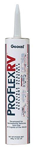 Geocel 28103 RV Trailer Camper Sealants Proflex Flexible Sealant Black 10 Oz. (Quantity 1)