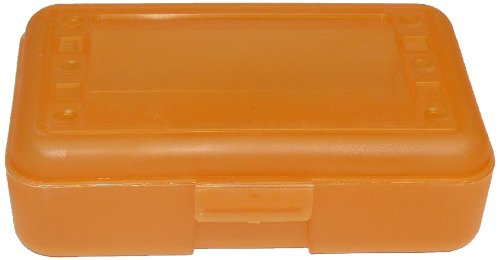 Romanoff Products Pencil Box, Tangerine