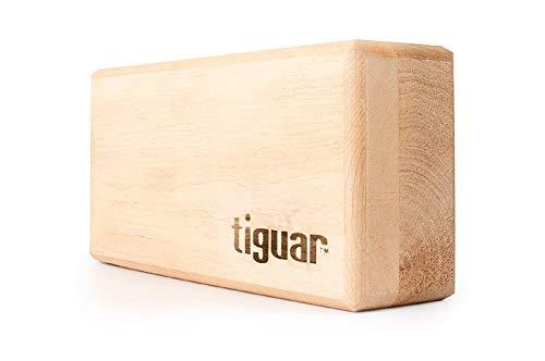 Tiguar Yoga Block Wood Yogaklotz Erweiterung Unterstützung Ausführung Zusatz