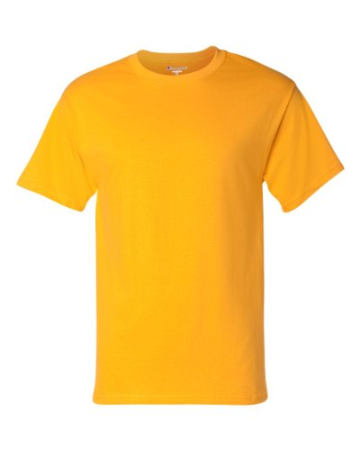 Champion Cotton Tagless T-Shirt - Gold