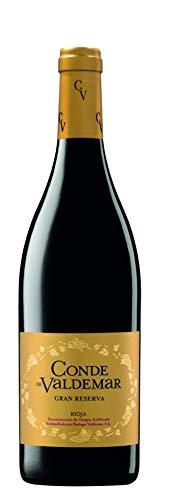 Rioja Gran Reserva Conde de Valdemar DO 2011 Bodegas Valdemar, trockener spanischer Rotwein aus Rioja
