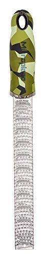 Microplane Zester Grattugia da Cucina Funky Camouflage Lama fine Ideale per Agrumi, Formaggio a Pasta Dura, Zenzero, Cioccolato e Noce Moscata