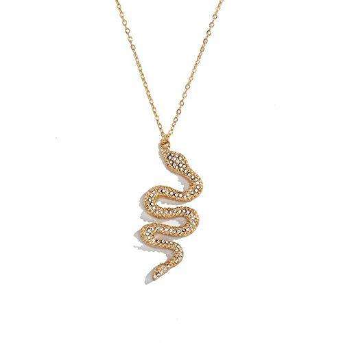 Hola, Soy Un Collar De Serpiente, Colgante, Pendientes, Anillo, Pulsera, Especialmente Diseñado Para Mujeres Serpiente De Oro