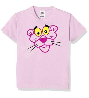 Desconocido Camiseta Retro Pantera Rosa (l)