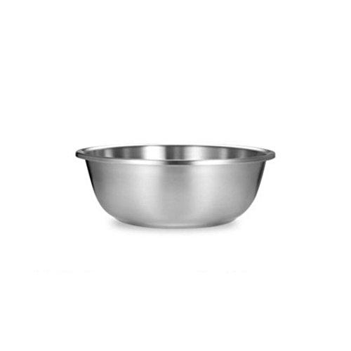 MXJ61 304 Cuenca de Acero Inoxidable Inicio Ronda más Grueso Profundizar Basura de la Sopa Lavar Verduras Panales Cocina Lucha El Huevo Pot (Tamaño : 22cm)