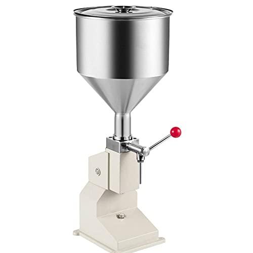 BestEquip A03 Liquid Filling Machine 5-50ml Bottle Filler Manual Liquid Filling Machine for Cream Paste