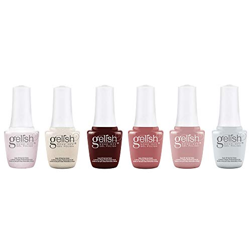 Gelish Out in the Open 9mL Gel Polish, 6 Pack w/ Dancin' in the Sunlight, No Limits, In The Clouds, Keep It Simple, Be Free, and Take Time and Unwind