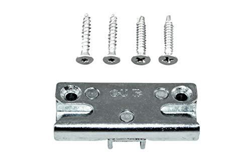GU Pilzkopf Schließblech Schliessplatte 9-36098 Gr.05 oder auch 9.36098 05 6511 ( 6-27831-05-0-1 ) incl. Montagematerial