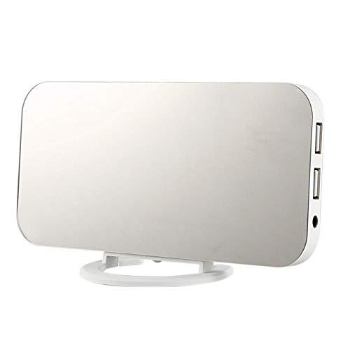 FPRW Despertador electrónico Creativo, Imagen de Carga del teléfono móvil, Despertador, Despertador, Pantalla LED, Reloj de decrotión del Hotel