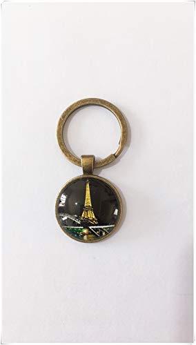 heng yuan tian cheng Night Paris Keyboard Souvenir Paris Party Geschenk Französische Tastatur Paris Eiffelturm Tastatur