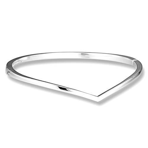 MOCCI 2019 frühling Shining Wish Armreif 925 Silber DIY Passt für Ursprüngliche Pandora Armbänder Charme Modeschmuck (16 cm)